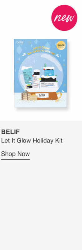 BELIF LET IT GLOW HOLIDAY KIT