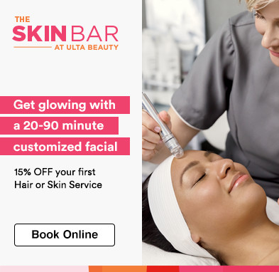 15% off your first hair or skin service