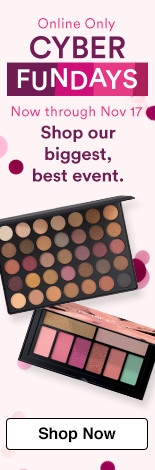 Cyber Fundays. SHOP OUR BIGGEST, BEST EVENT. Going on now through Saturday 11/18. More than 160 offers, 18 piece beauty bags, free gifts and more.
