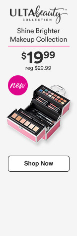 Shine Brighter Makeup Collection Now $19.99/Reg $29.99/ $179 value