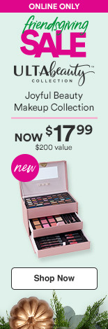 Ulta Beauty Collection-Now! $17.99 Joyful Beauty $200 value
