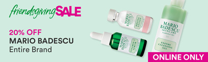 Friendsgiving Sale: Mario Badescu 20% Off Entire Brand