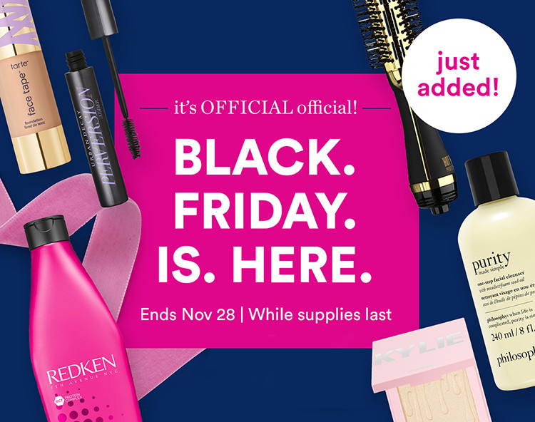 Black Friday Deals. Ends Nov 28 While supplies last.