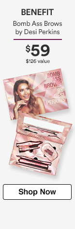 Bomb Ass Brows by Desi Perkins, $59. $126 value! 4 Full-size products.