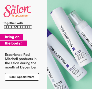 Bring on the body! Experience Paul Mitchell products in the salon during the month of December