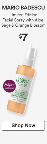 Mario Badescu New Limited Edition Orange Blossom Facial Spray, $7