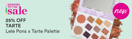 Dashing to the Sale: 30% off Lele Pons x tarte Palette