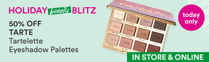 Beauty Blitz Daily Deal: 50% off Tartelette Palettes