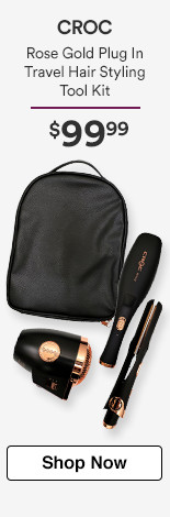 Only at Ulta! Rose Gold Plug In Travel Hair Styling tool Kit $99.99