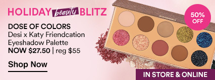 NOW 50% OFF. Desi x Katy Friendcation Eyeshadow Palettenow $27.50 | reg $55