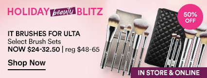 NOW 50% OFF. Select Brush Setsnow $24-32.50 | reg $48-65.