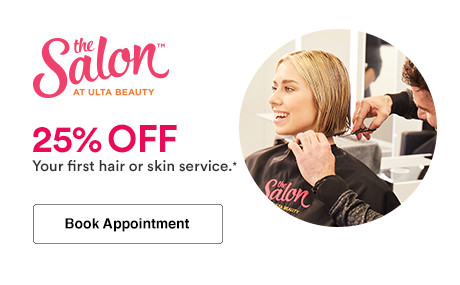 Book an appointment and receive 20% off your first hair or skin service at Ulta Beauty.