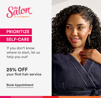 Prioritize self-care. If you don't know where to start, let us help you out! 25% off your first hair service. Disclaimer: Offer valid for new, first-time Salon guests. Must present promotional offer at time of service. Excludes hair extensions. Cannot be combined with any other beauty service offer. Offer expires 1.30.21.