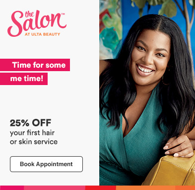 25% off your first hair or skin service