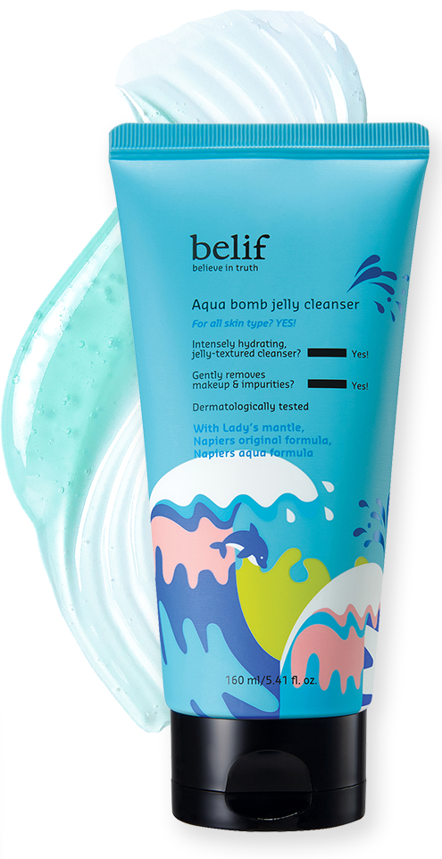 belif Aqua Bomb Jelly Cleanser