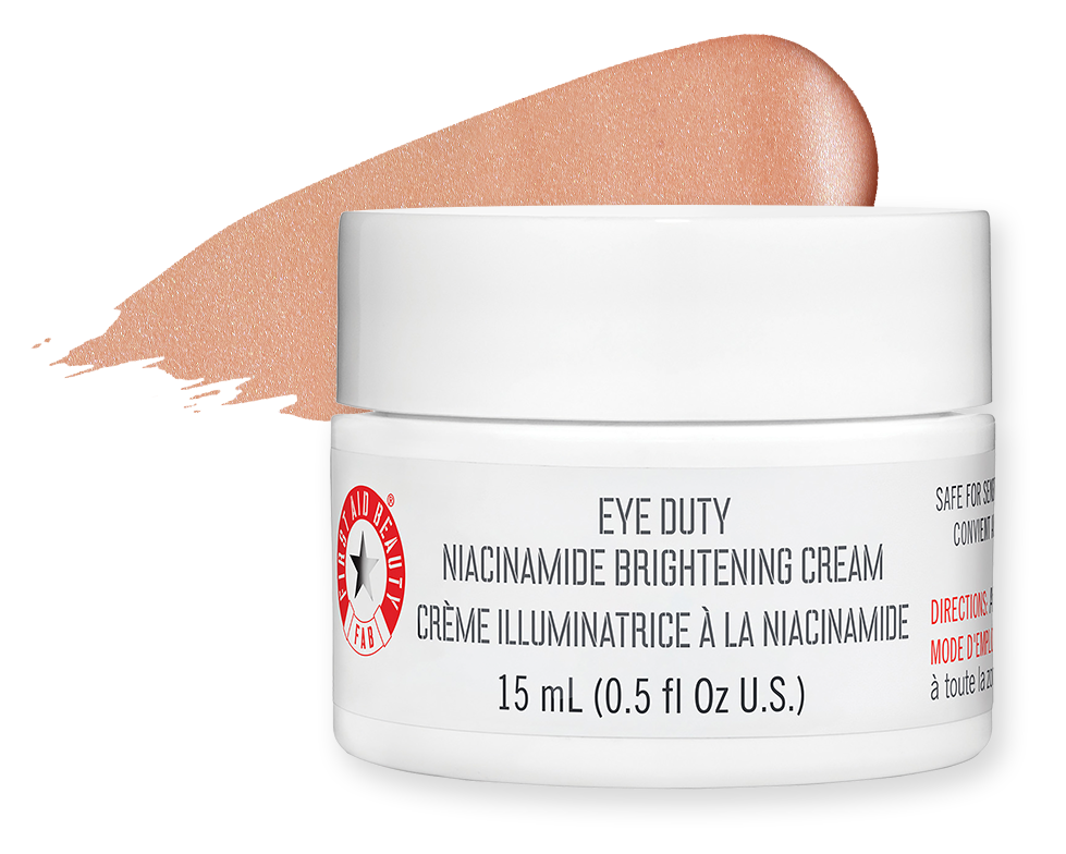 First Aid Beauty Eye Duty Niacinamide Brightening Cream