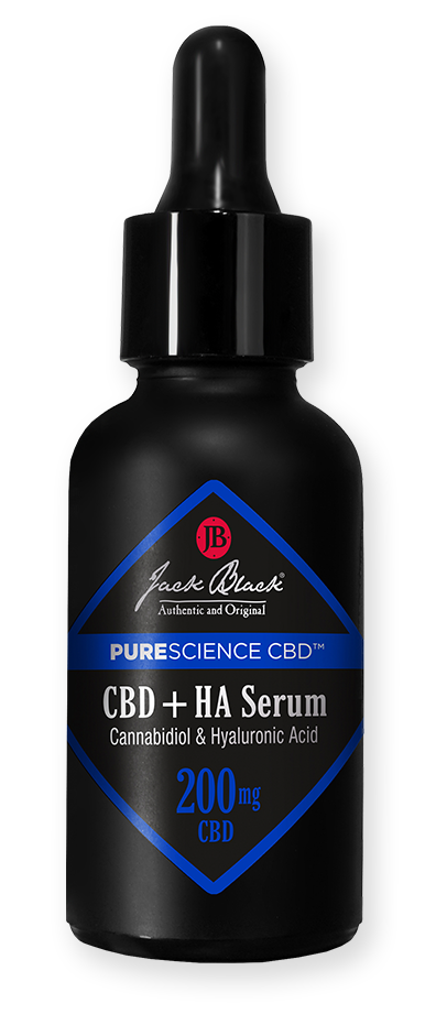 Jack Black PureScience CBD CBD + HA Serum