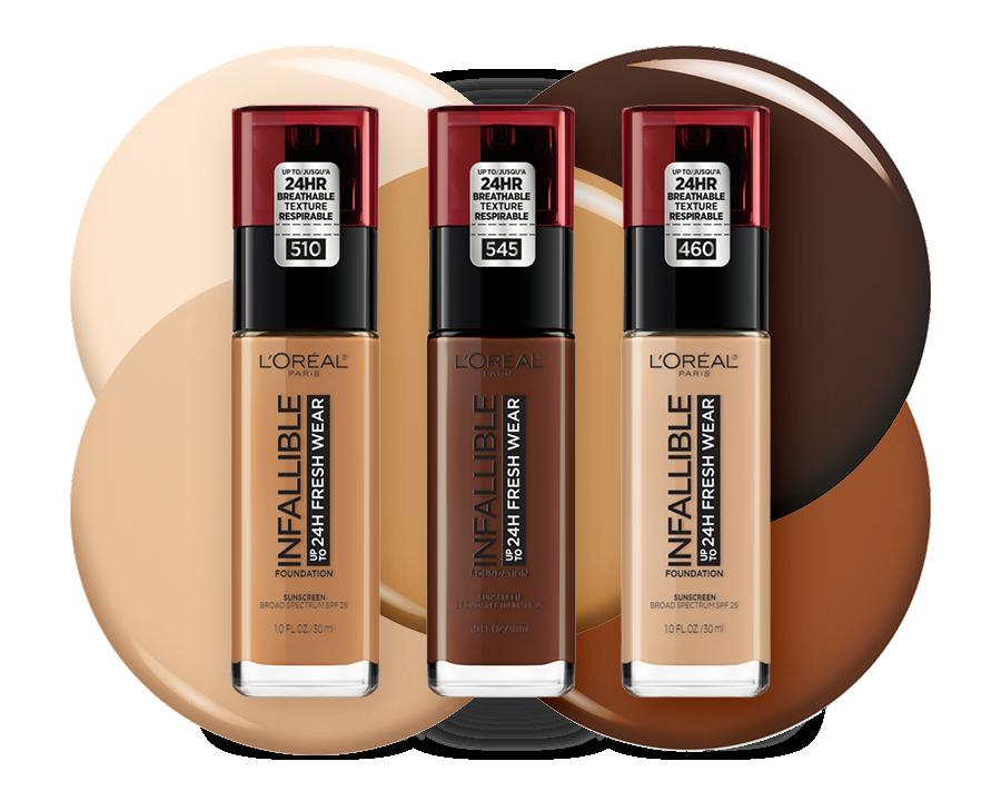 Shade Finder - L'Oréal Paris Infallible 24 Hour Fresh Wear Foundation | Ulta Beauty