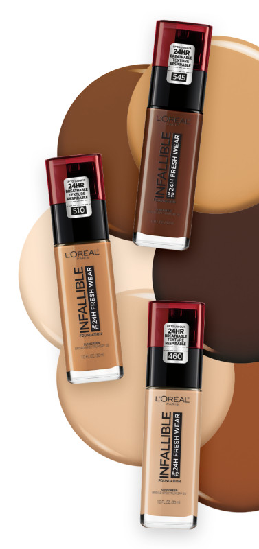 Shade Finder L Oreal Paris Infallible 24 Hour Fresh Wear Foundation Ulta Beauty