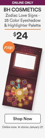 New!! Zodiac Love Signs - 25 Color Eyeshadow & Highlighter Palette $24