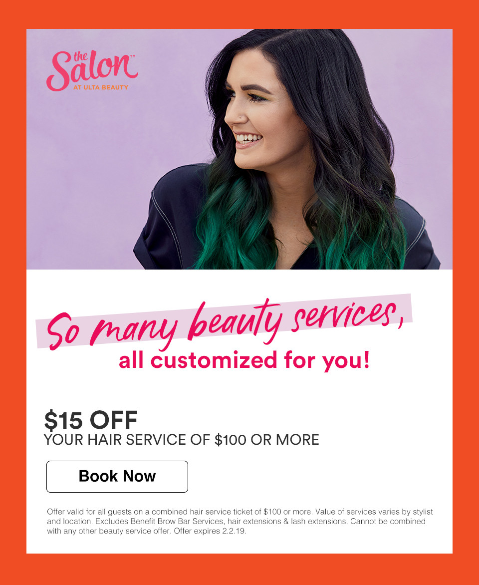 Hair Salon Book A Hair Style Haircut More Ulta Beauty