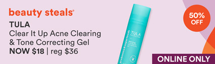 Clear It Up Acne Clearing and Tone Correcting Gel Now $18 | Reg $36