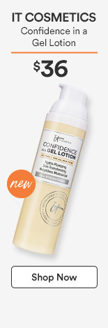 IT Cosmetics Confidence in a Gel Lotion $32