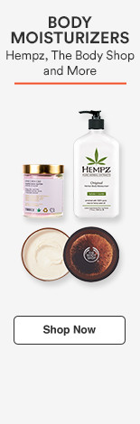 Body Moistuirzers Hempz, The Body Shop &  more