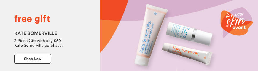 FREE 3 Piece Gift with any $50 Kate Somerville purchase