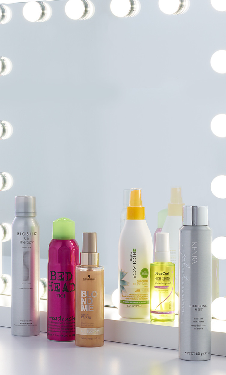 This month's Hair Heroes is Shine Sprays. Discover our six product picks to help you achieve your hair goals.
