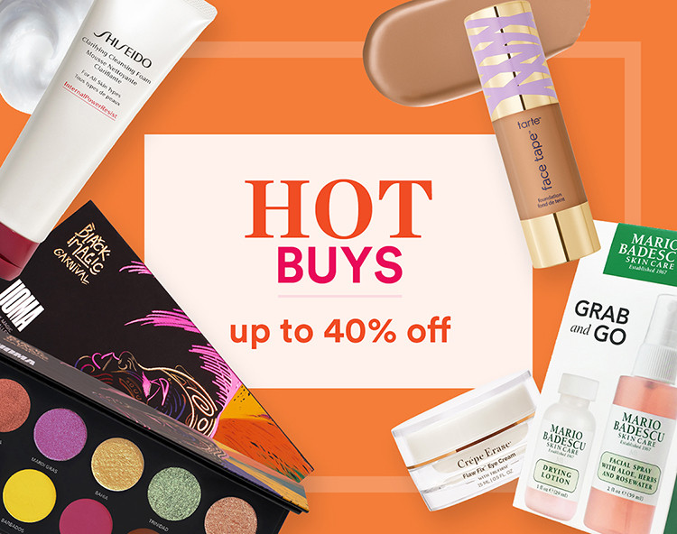 Up to 40% off Hot Buys