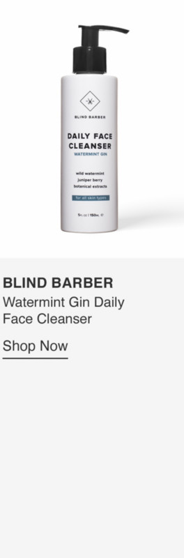 Watermint Gin Daily Face Cleanser