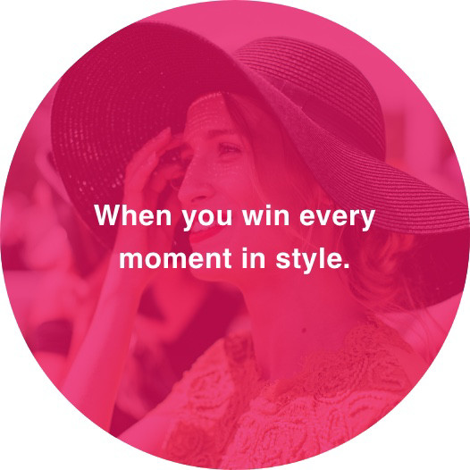 Elegant mouse-over – When you win every moment in style.