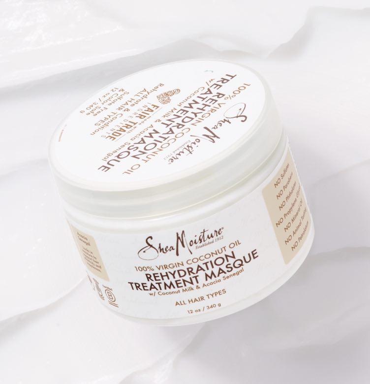 SheaMoisture 100% Virgin Coconut Oil Rehydration Masque